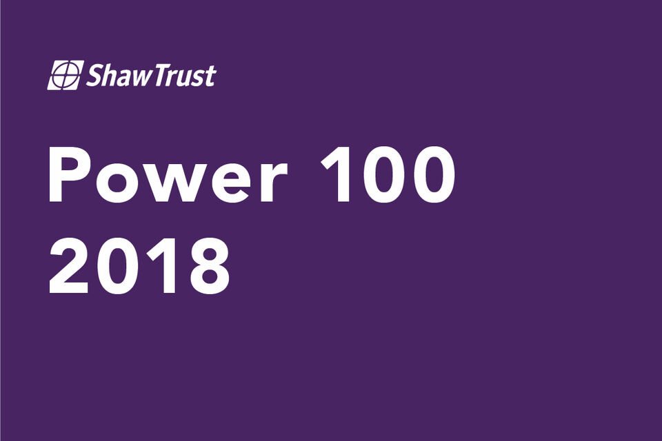 Power List 100 2018 2